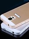 Для Кейс для  Samsung Galaxy Защита от удара Кейс для Задняя крышка Кейс для Один цвет PC Samsung S5