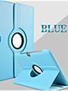 Pour Samsung Galaxy Coque Avec Support Clapet Rotation 360° Coque Coque Integrale Coque Couleur Pleine Cuir PU pour Samsung Tab 2 10.1