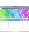 """coosbo® красочные силиконовые клавиатуры защита кожного покрова для 11 """", 12"""", 13 """", 15"""", 17 """" MacBook Air Pro сетчатки глаза"""