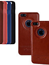 3.5 인치 고급 PU 가죽 케이스는 다시 아이폰 4 / 4S (모듬 색상)를 포함