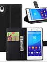личи вокруг открытой кронштейн кожа телефона бумажника карточку подходит для Sony Xperia m4 аква (ассорти цветов)
