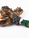 Dog Toy / Cat Toy Pet Toys Chew Toy / Plush Toy Squeak / Squeaking / Duck Brown Textile