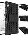 2015 소니 XPERIA Z5 e6603 e6633 e6653 e6683 실리콘 보호 피부 이중 색상에 대한 무거운 의무 하드 커버 케이스 갑옷