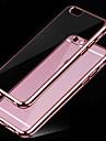 Pour Coque iPhone 6 Plaque Transparente Coque Coque Arriere Coque Couleur Pleine Flexible PUT pour iPhone 7 Plus iPhone 7 iPhone 6s/6