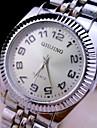 L.WEST Men\'s Steel Belt Analog Quartz Watch Wrist Watch Cool Watch Unique Watch Fashion Watch
