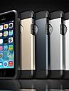 Pour iPhone X iPhone 8 Coque iPhone 5 Etuis coque Antichoc Coque Arriere Coque Armure Flexible Silicone pour iPhone X iPhone 8 Plus