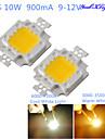 youoklight® module de bricolage 10w 820-900lm 900mA lumiere blanche / lumiere blanche froide chaude LED integre (DC 9-12 V)
