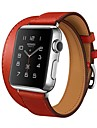 Watch Band for Apple Watch 3 38mm 42mm Leather Replacement Stap Wristband Double Tour