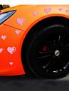 Reflective Romantic Love Personality Car Stickers(15pcs/set)