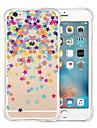 Pour Coque iPhone 5 Etuis coque Transparente Motif Coque Arriere Coque Dessin Anime Flexible Silicone pour iPhone SE/5s iPhone 5