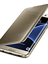 Luxury Clear View Mirror Flip Smart Case Cover For Samsung Galaxy S8 S7 Edge/S7/S6 Edge Plus/S6 Edge/S6