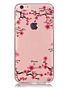 제품 iPhone X iPhone 8 iPhone 6 iPhone 6 Plus 케이스 커버 투명 패턴 뒷면 커버 케이스 꽃장식 소프트 TPU 용 iPhone X iPhone 8 Plus iPhone 8 아이폰 7 플러스 아이폰 (7) iPhone