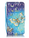 3D Painted Butterfly Dream Pattern PU Material Phone Case for Galaxy J3/J310/J5/J510/G360/G530