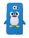 Для Кейс для  Samsung Galaxy Защита от удара Кейс для Задняя крышка Кейс для 3D в мультяшном стиле Силикон SamsungS7 edge / S7 / S6 / S5