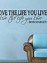 Words & Quotes Wall Stickers  Romance / Fashion / Shapes Wall Stickers Plane Wall Stickers,vinyl 57*65cm