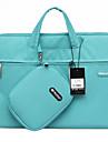 Gearmax® 14inch/15inch Waterproof Handheld Laptop Case/Bag Solid Color Blue/Green/Pink/Gray