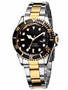 Watch Men Clock Military Sport Mens Stainless Steel Watches Wristwatch Gold Watch Relogio Masculino Display Quartz Montre Homme