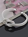 Femme Bracelets Rigides Manchettes Bracelets Style Punk Ajustable Adorable Inspiration bijoux de fantaisie Argent sterling Forme Ronde