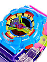 SANDA Муж. Спортивные часы электронные часы Кварцевый Цифровой Японский кварц LCD Календарь Защита от влаги С двумя часовыми поясами
