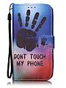 Para Carteira / Porta-Cartao Capinha Corpo Inteiro Capinha Desenho Rigida Couro PU AppleiPhone 7 Plus / iPhone 7 / iPhone 6s Plus/6 Plus