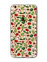 Pour Coque iPhone 7 Coques iPhone 7 Plus Coque iPhone 6 Translucide Motif Coque Coque Arriere Coque Noel Flexible PUT pour AppleiPhone 7