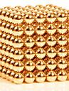Jouets Aimantes 216 Pieces 3MM Magnetic Balls,Golden&Silver 2 Color Choose,Diameter 3 MM Soulage le Stress Kit de Bricolage Jouets