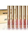 Birthday Limited Gold Edition 6 Colored Mini Lip Gloss Matte Cosmetics Lip Kit Cosmetics