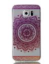 Para samsung galaxy s7 edge s7 padrao de flores rosa alta permeabilidade tpu material caixa de telefone