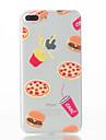Pour Coque iPhone 7 Coques iPhone 7 Plus Coque iPhone 6 Motif Coque Coque Arriere Coque Fruit Flexible PUT pour AppleiPhone 7 Plus iPhone