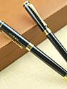 Caneta Caneta Canetas Caneta,Metal Barril Preto cores de tinta For material escolar Material de escritorio Pack of PEN