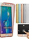 para Samsung Galaxy J7 2016 TPU caso de corpo inteiro caso capa protetora clara J1 J2 J3 J5 J7 2016