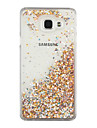 For Samsung Galaxy A510 A710 Case Cover Small Fresh PC Hard Edge of The Sand Flashing Mobile Phone Shell