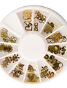 60 Manucure De oration strass Perles Maquillage cosmetique Nail Art Design