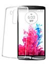 Pour Coque LG Transparente Coque Coque Arriere Coque Couleur Pleine Flexible PUT pour LG LG G5 LG G4 LG G3