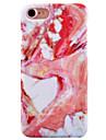 Pour Ultrafine Motif Coque Coque Arriere Coque Marbre Dur Polycarbonate pour AppleiPhone 7 Plus iPhone 7 iPhone 6s Plus/6 Plus iPhone