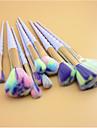 10Conjuntos de pincel Pincel para Blush Pincel para Labios Pincel de Sombrancelha Pincel para Corretivo Escova Ventoinha Pincel para Po