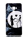 Для Сияние в темноте Матовое Полупрозрачный С узором Кейс для Задняя крышка Кейс для С сердцем Мягкий TPU для AsusAsus ZenFone 3