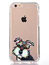 Pour Transparente Motif Coque Coque Arriere Coque Chien Flexible PUT pour AppleiPhone 7 Plus iPhone 7 iPhone 6s Plus iPhone 6 Plus iPhone
