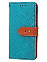 Pour Portefeuille Porte Carte Avec Support Clapet Relief Motif Coque Coque Integrale Coque Carreaux Dur Cuir PU pour SamsungS7 edge S7 S6