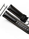 para a engrenagem s3 fronteira classico pulseira pulseira de 22 milimetros pulseira de couro genuino com seguro de metal homem fecho de