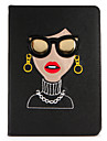 For Apple iPad (2017)  Pro 9.7\'\' Case Cover with Stand Flip Pattern Full Body Case Sexy Lady Hard PU Leather Air 2 Air
