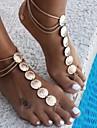 Femme Bracelet de cheville/Bracelet Alliage Vintage bijoux de fantaisie Forme de Fleur Bijoux Pour Quotidien Decontracte Sports