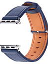 Banda de relogios para Apple Watch series 1 2 38mm Bracelete de couro de reposicao de couro genuino de 42mm