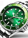 Men\'s Dress Watch Fashion Watch Wrist watch Mechanical Watch Automatic self-winding Calendar Water Resistant / Water Proof Luminous