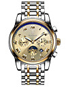 Tevise Women\'s Men\'s Couple\'s Sport Watch Skeleton Watch Fashion Watch Mechanical Watch Automatic self-windingCalendar Water Resistant /