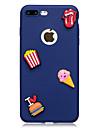 Назначение iPhone X iPhone 8 Чехлы панели С узором Своими руками Задняя крышка Кейс для Продукты питания Мягкий Термопластик для Apple