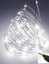 5M USB-5V 50Led Waterproof Decoration LED Copper Wire Lights String for Christmas Festival Wedding Party Patio Decorative Lights