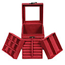 hesapli Takı Paketleme ve Gösterim-şık mücevher kutusu ovaljewelry püsküller / crossover / bohemia zarif stil
