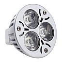 ราคาถูก ไฟสปอร์ตไลท์ LED-3 W 260-300 lm GU5.3(MR16) LED สปอตไลท์ MR16 3 ลูกปัด LED LED กำลังสูง ขาวธรรมชาติ 12 V