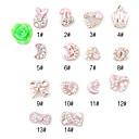 hesapli Makyaj ve Tırnak Bakımı-10 pcs Tırnak Takısı tırnak sanatı Manikür pedikür Günlük Karikatür / Moda / Nail Jewelry / Metal